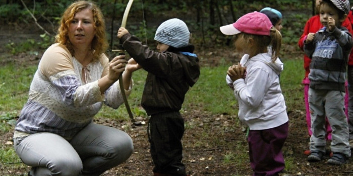 Letní tábory se zážitkovou lesní školou Perníček