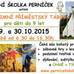 podzimní tábor 2015